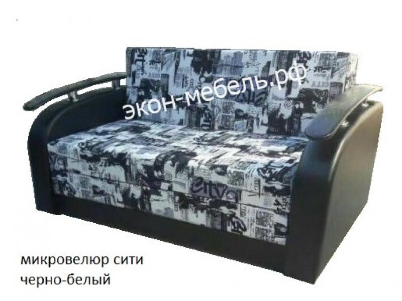 """Диван-кровать """"Евро-чебурашка"""" - микровелюр"""