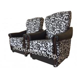 """Кресло """"Классик"""" с мягкими подлокотниками - турецкий гобелен"""