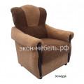 Кресло с мягкими подлокотниками - Эскада, жаккард или вельвет люкс