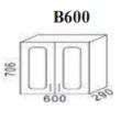 Верхний модуль Агава 600мм (в600)