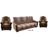 """Набор диван-кровать+2 кресла с мягкими подлокотниками """"Классик"""" - Шенилл"""