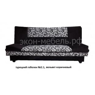 """Диван-кровать """"Лодка"""" ткань турецкий гобелен с вельветом люкс"""