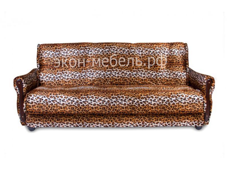 """Диван-кровать """"Классик"""" - с мягкими подлокотниками - Велюр"""