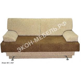 """Диван-кровать """"Еврокнижка-1"""" с формовочными подушками- Эскада"""