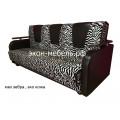 """Диван-кровать """"Эстет"""" - с деревянными подлокотниками - в ткани турецкий гобелен или рогожка"""